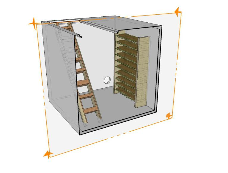 cave vin b ton fabricant de cave enterr e pr fabriqu e precase s e. Black Bedroom Furniture Sets. Home Design Ideas